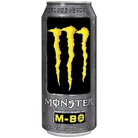 Monster  Energy M-80 Drink - 16 oz. - 24 pk.
