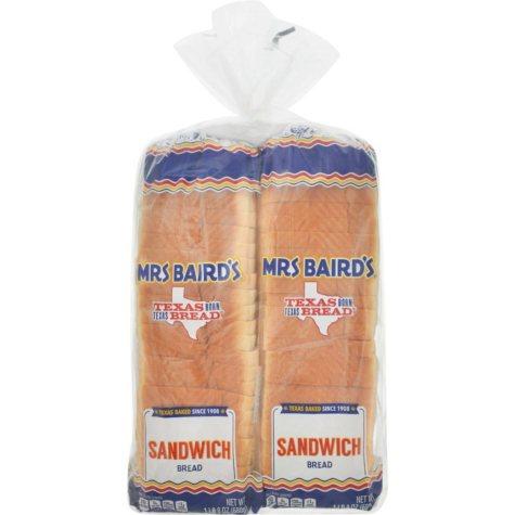 Mrs. Baird's Extra Thin Bread (24 oz., 2 pk.)
