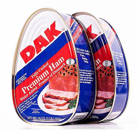 Dak Canned Ham (16 oz., 3 pk.)