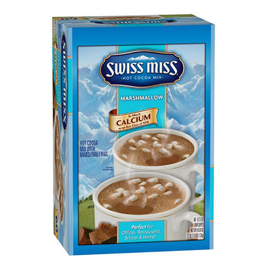 Swiss Miss? Hot Cocoa Mix w/ Mini Marshmallows, 60 PKT.