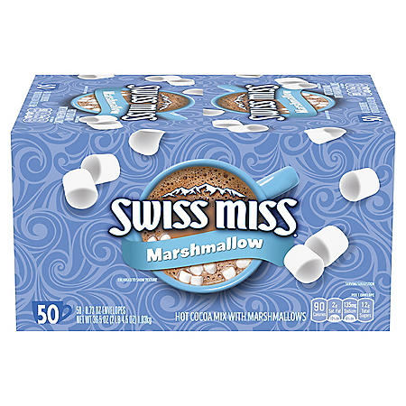 Swiss Miss Marshmallow Hot Cocoa Mix (50 ct.)