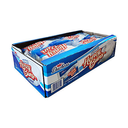 Duchess Jumbo Iced Honey Buns (5 oz., 12 pk.)