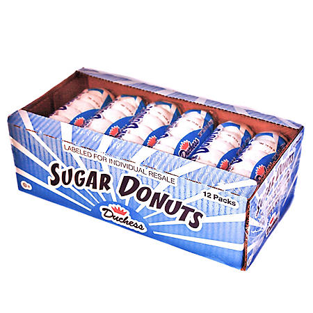 Duchess Sugar Donuts (3oz / 12pk)