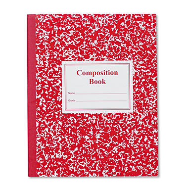Roaring Spring Grade School Ruled Composition Book, 9-3/4