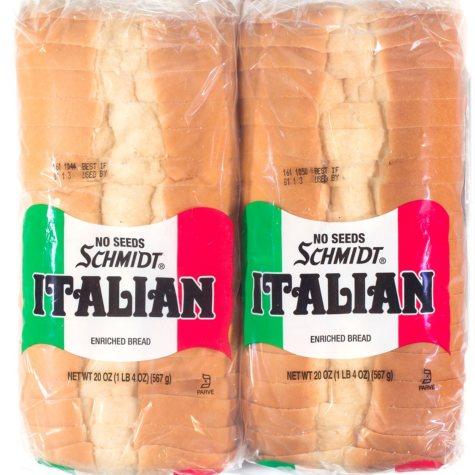Schmidt Italian Bread (40 oz., 2 pk.)