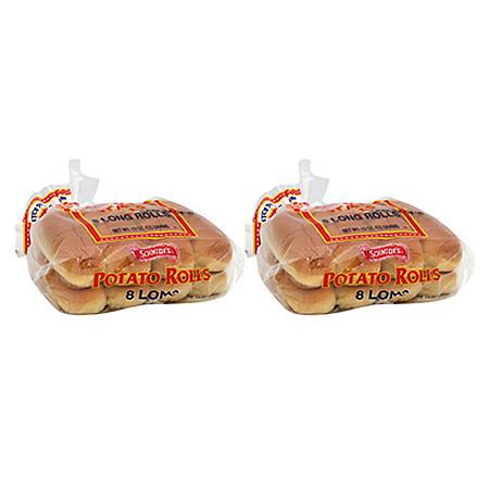 Schmidt Potato Hot Dog Rolls - 16ct.
