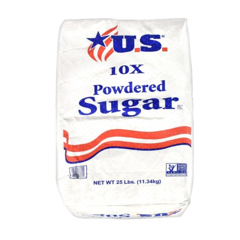 U.S. Powdered Sugar (25 lbs.)