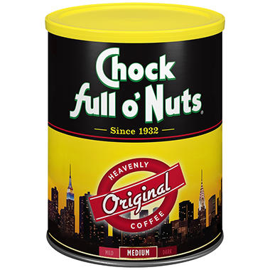 Chock full o' Nuts Heavenly Original Coffee (48 oz.)