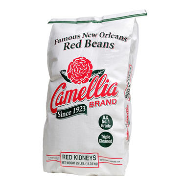 Camellia Red Kidney Beans - 25 lbs.
