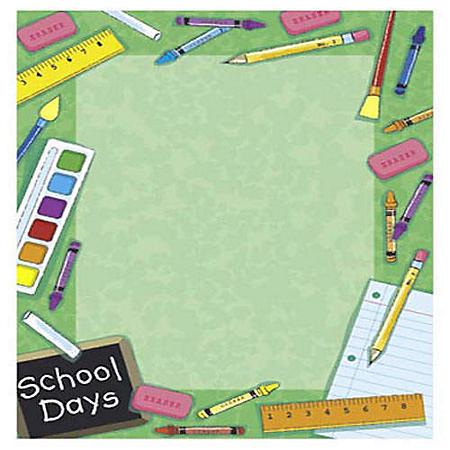 School Design Letterhead - 100 ct.
