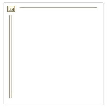 Capitol Gold Foil Letterhead - 40 ct.