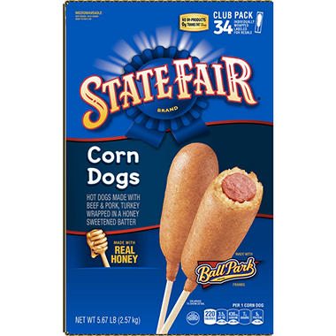 State Fair Corn Dogs (34 ct., 5.6 lbs.)