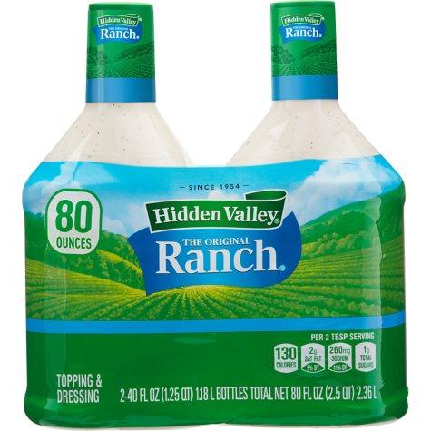 Hidden Valley The Original Ranch Dressing (40 oz., 2 pk.)