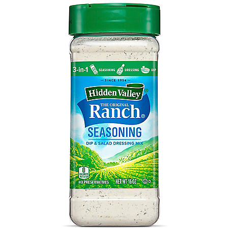 Hidden Valley Original Ranch Salad Dressing & Seasoning Mix Canister (1 Canister)