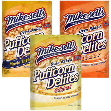 Mike-sell's Puffcorn Delites - 12oz