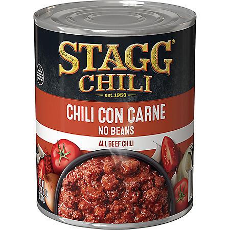 Stagg Chili Con Carne No Beans (108 oz.)