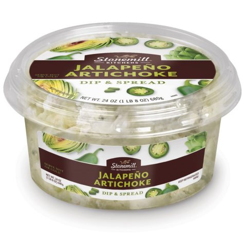 Stonemill Kitchens Jalapeno Artichoke Dip and Spread (24 oz.)