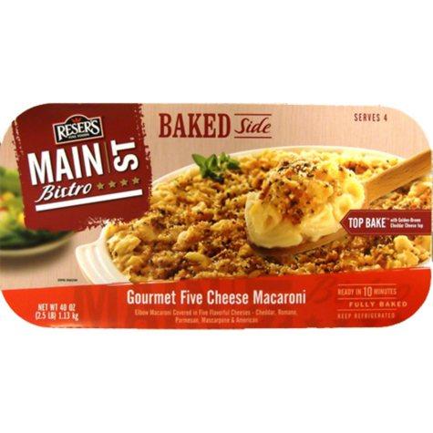 Reser's Main St. Bistro Gourmet Five Cheese Macaroni - 2.5 lbs