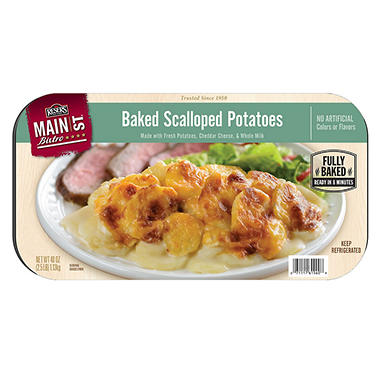 Main St. Bistro Scalloped Potatoes - 2.5 lbs.