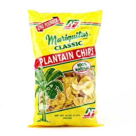 Mariquitas Classic Plantain Chips - 16 oz.