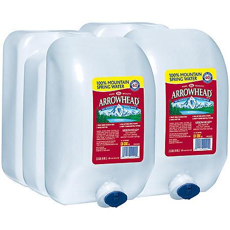 Arrowhead 100% Mountain Spring Water (2.5gal / 2pk)