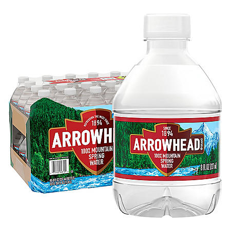 Arrowhead 100% Mountain Spring Water (8oz / 48pk)