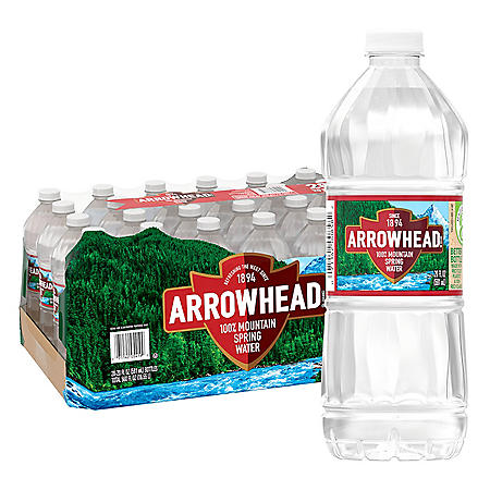 Arrowhead 100% Mountain Spring Water (20 oz., 28 pk.)