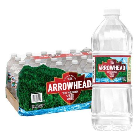 Arrowhead 100% Mountain Spring Water (20 oz., 28 pk.)