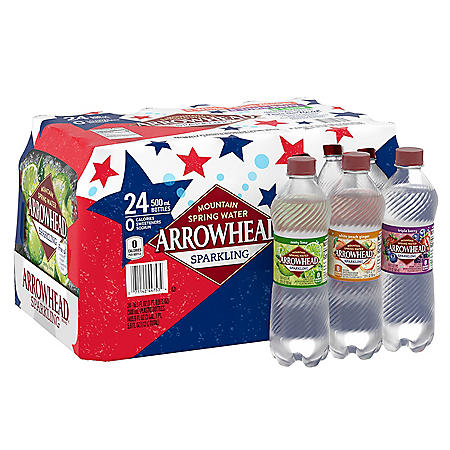 Arrowhead Sparkling Spring Water, Assorted Flavors (16.9 fl. oz., 24 pk.)