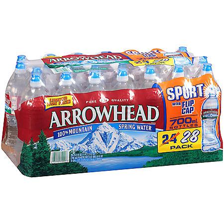 Arrowhead Mountain Spring Water - 23.7 fl. oz. - 28 pk.