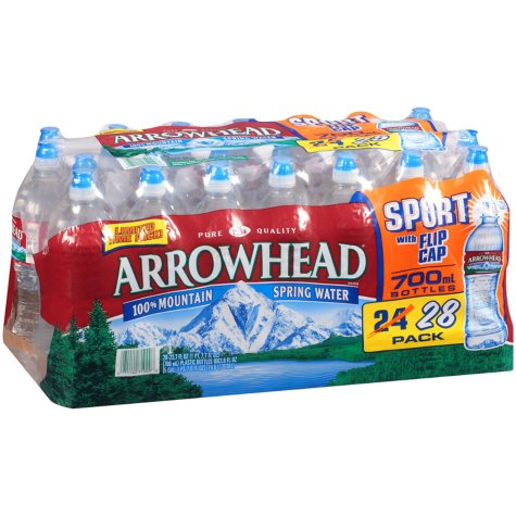 Arrowhead Mountain Spring Water - 23.7 fl. oz. - 28 pk.