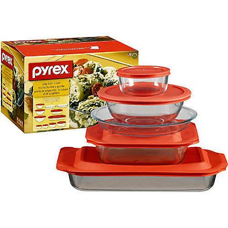 Pyrex® Prep, Bake 'n Store Set - 20pc