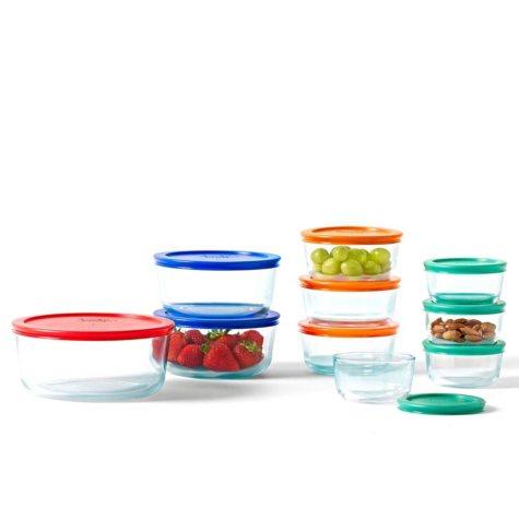 Pyrex 20-Piece Glass Storage Set
