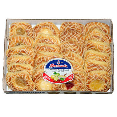 Svenhard's Swedish Bakery Assortment Danish (24 ct.)