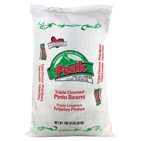 Peak Pinto Beans (100 lb. poly bag)