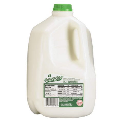 Country Club Dairy 1% Low Fat Milk  (1 gal.)