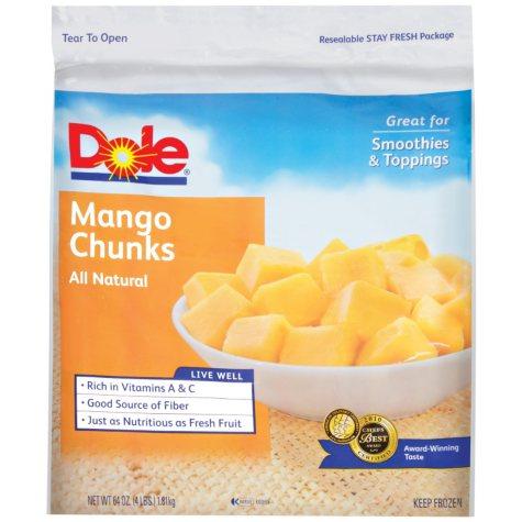 Dole Mango Chunks - 64 oz.