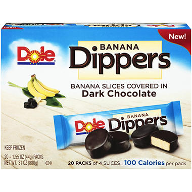 Dole Frozen Banana Dippers - 20 ct.
