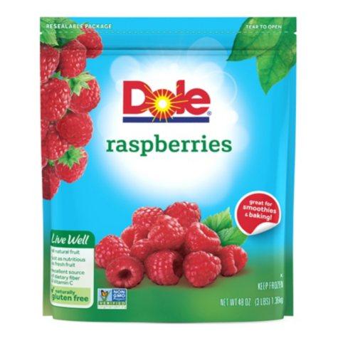 Dole Raspberries, Frozen (48 oz.)