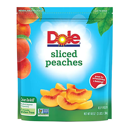 Dole Sliced Peaches, Frozen (48 oz.)