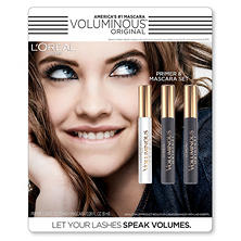 L'Oreal Paris Voluminous Primer with Mascara Kit