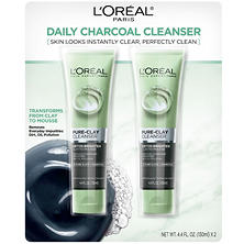 L'Oreal Paris Pure-Clay Cleanser, Detox-Brighten (4.4 fl. oz., 2 pk.)