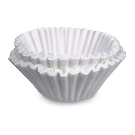 Brew Rite Bunn-Sized Coffee Filter - 1,000 ct.