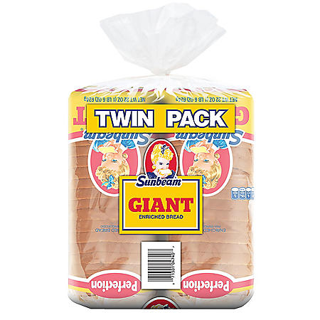 Sunbeam Giant Bread (24oz / 2pk)