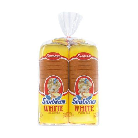 Sunbeam Round Top White Bread (32 oz., 2 pk.)