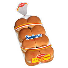 Sunbeam  Hamburger Buns - 16 ct