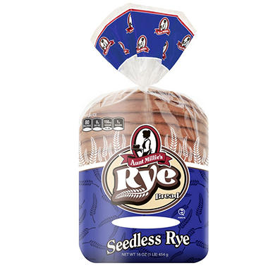 Aunt Millie's Seedless Rye Bread - 16 oz.
