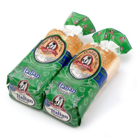 Aunt Millie's Homestyle Italian Bread (24 oz., 2 ct.)