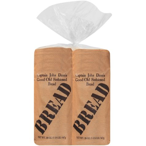 Captain John Derst's Old Fashion White Round Top Bread (40 oz., 2 pk.)
