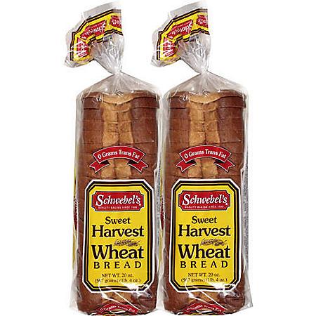 Schwebel's Sweet Harvest Wheat Bread (20oz)
